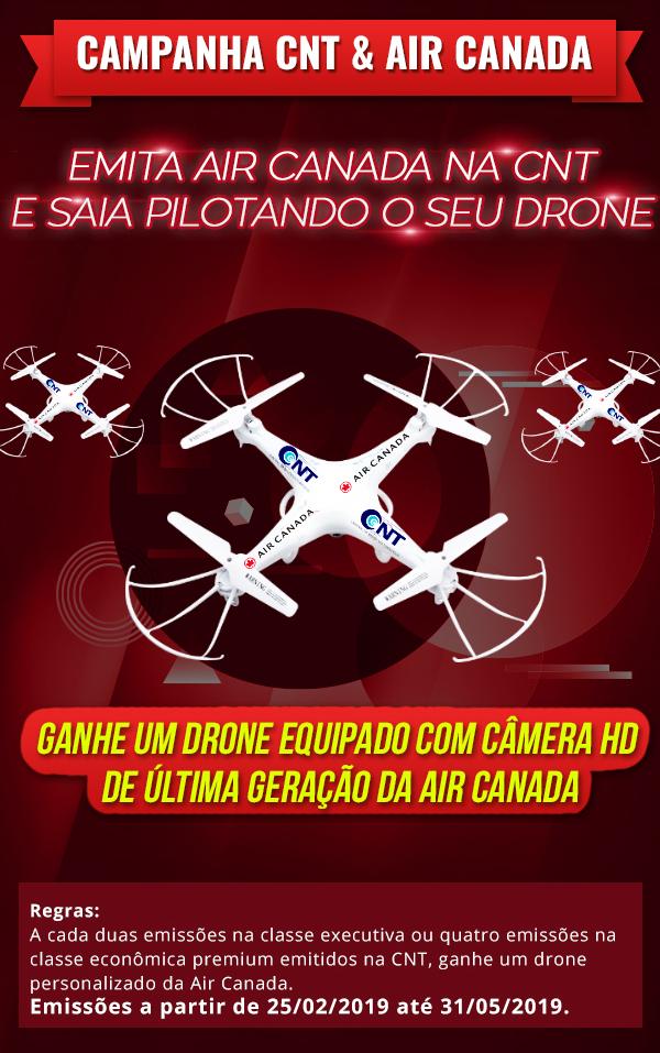 Drone Air Canada