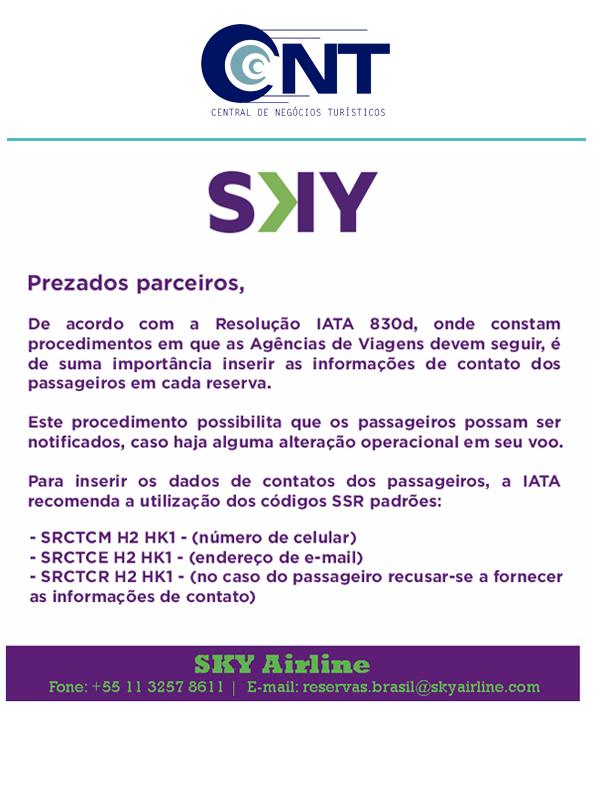 Informativo Resolução IATA 830d